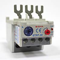 Тепловое реле для контактора, пускателя, теплушка на 40 А, диапазон 28-40, фото 1