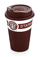 Керамическая кружка - стакан Starbucks 350 мл., фото 1