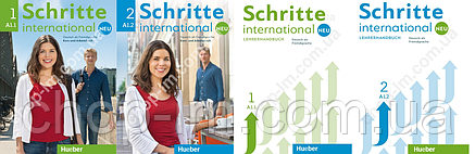 Schritte international Neu 1+2 Posterset (учебно-методические материалы для учителя, нов/изд.), фото 2