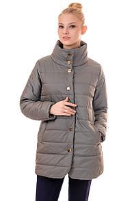 Куртка жіноча весна Irvik F105 оливковий