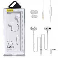 Наушники (гарнитура) Remax RM-515 White