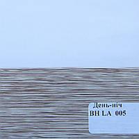 Рулонные шторы День-Ночь Ткань Ниагара ВМ-1502 Коричневый