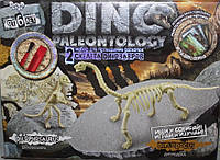 Раскопки динозавров 2 скелета палеонтология