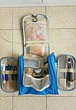 Велика червона сумочка, сумка, органайзер, несесер, кейс у відпустку, жіноча, на подарунок, фото 6