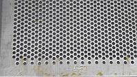 Решето КДУ, ячейка 5 мм, толщина 2 мм, лист  388 х 663 мм.