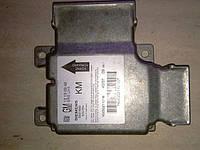 6235452 Блок управления подушек безопасности Опель Вектра Ц (Opel Vectra C) б/у