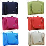 Велика червона сумочка, сумка, органайзер, несесер, кейс у відпустку, жіноча, на подарунок, фото 4