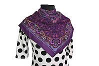 Платок Фелиция фиолетовый