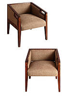 Кресло Хит. Каркас дерево акация. Ткань канвас. Хендмейд. Индия.