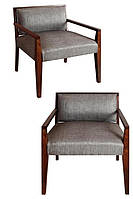 Кресло Leonar. Каркас дерево акация. Ткань канвас. Хендмейд. Индия.