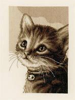 """Набор для вышивания крестом  VERVACO """"Kitten (Котенок)"""""""