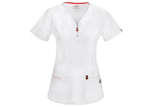 Женская медицинская футболка 46600AB-WHCH, фото 2