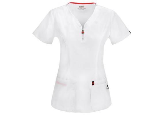 Женская медицинская футболка 46600AB-WHCH