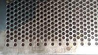 Решето КДУ, ячейка 6.3 мм, толщина 3 мм, лист  388 х 663 мм.