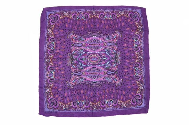 Платок Фелиция фиолетовый 3