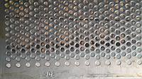 Решето КДУ, ячейка 8 мм, толщина 3 мм, лист  388 х 663 мм.