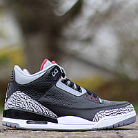 "Nike Air Jordan 3 ""Black Cement"""