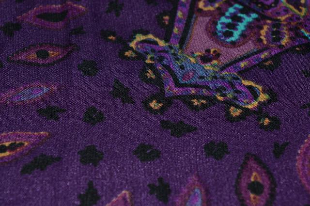 Платок Фелиция фиолетовый 4