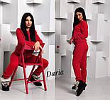 Женский стильный вязанный костюм: свитер и штаны (4 цвета) Турция, фото 5