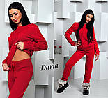 Женский стильный вязанный костюм: свитер и штаны (4 цвета) Турция, фото 6
