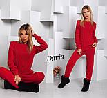 Женский стильный вязанный костюм: свитер и штаны (4 цвета) Турция, фото 7