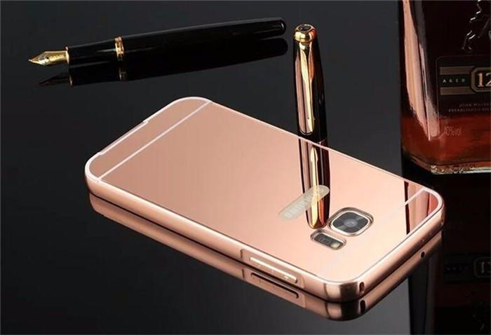 Алюминиевый чехол бампер для Samsung S7 edge