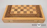 Шахматы ручной работы, игра нарды, шашки, 3в1