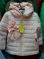 """Детская весенняя курточка """"Бантик"""""""