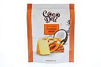 """Кокосовые чипсы  """"CocoDeli"""" с пармезаном"""