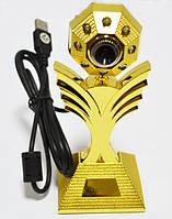 Веб-камера WC-HD (цветок), веб камера с микрофоном, web kamera