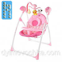 Детское кресло-качалка M 1540-1-2 Bambi, розовый