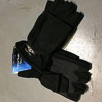 Перчатки рыбацкие MIKADO с откидными пальцами