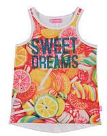 Майка для девочки LC Waikiki с надписью Sweet dreams