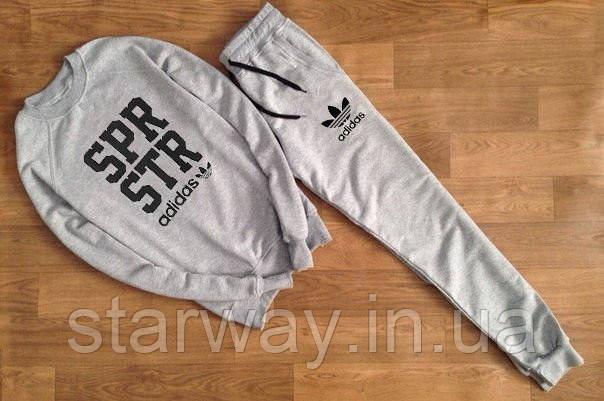 Мужской спортивный костюм Adidas   SPR STR logo