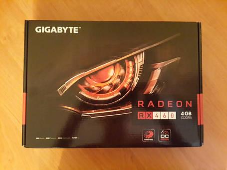 Видеокарта GIGABYTE Radeon RX460 WINDFORCE OC 4G (GV-RX460WF2OC-4GD), фото 2