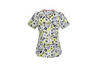 Женская медицинская футболка 46604A ISGE