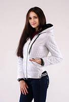 Осенняя женская курточка Мода плащевка на синтепоне
