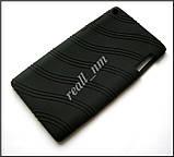 Черный силиконовый чехол для планшета Lenovo Tab 3 730X tab 3-730X, чехол накладка бампер, фото 3
