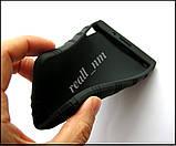 Черный силиконовый чехол для планшета Lenovo Tab 3 730X tab 3-730X, чехол накладка бампер, фото 4