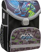 Рюкзак школьный каркасный Kite 529 max steel для мальчиков MX15-529S