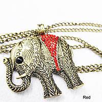 Кулон Слон женский на цепочке