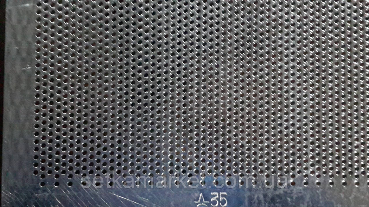 Решето (сито) ОВС-25, толщина 1.0 мм, ячейка 3.5 мм, оцинкованный металл