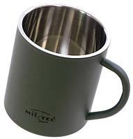 Термокружка из нержавеющей стали 300мл MilTec Olive 14603000