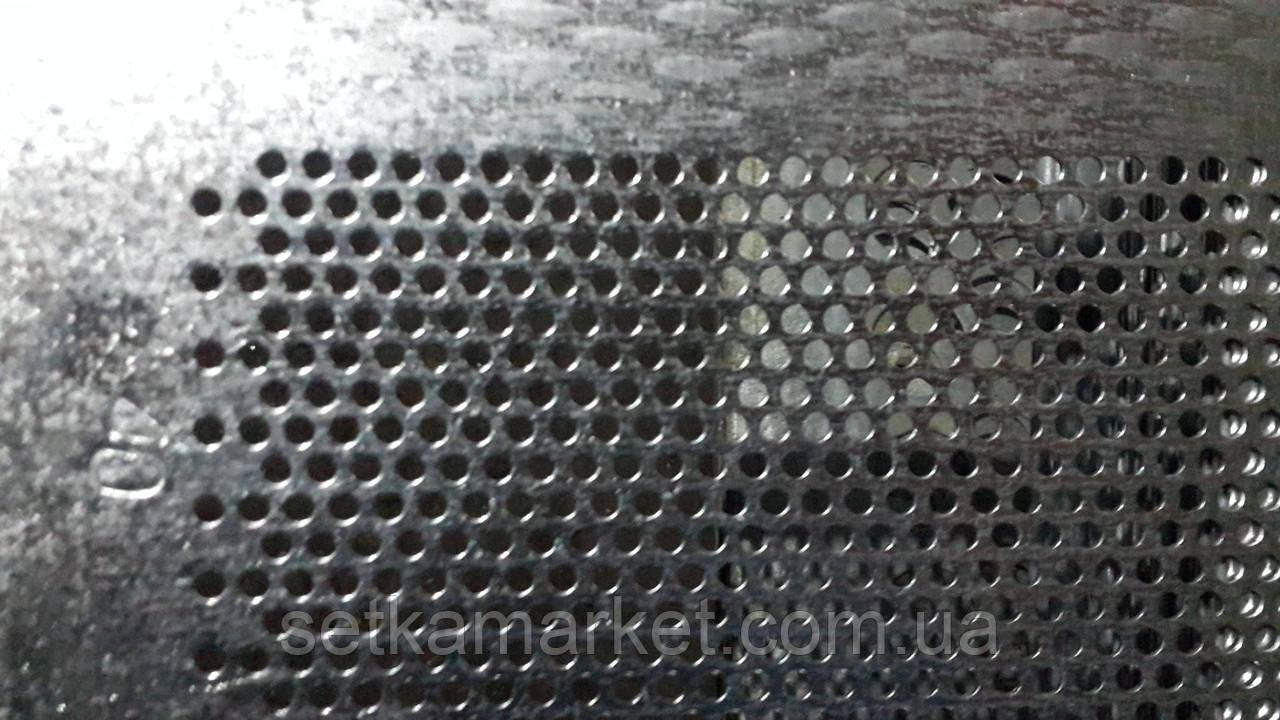 Решето (сито) ОВС-25, товщина: 1.0 мм, осередок 4.5 мм, оцинкований метал