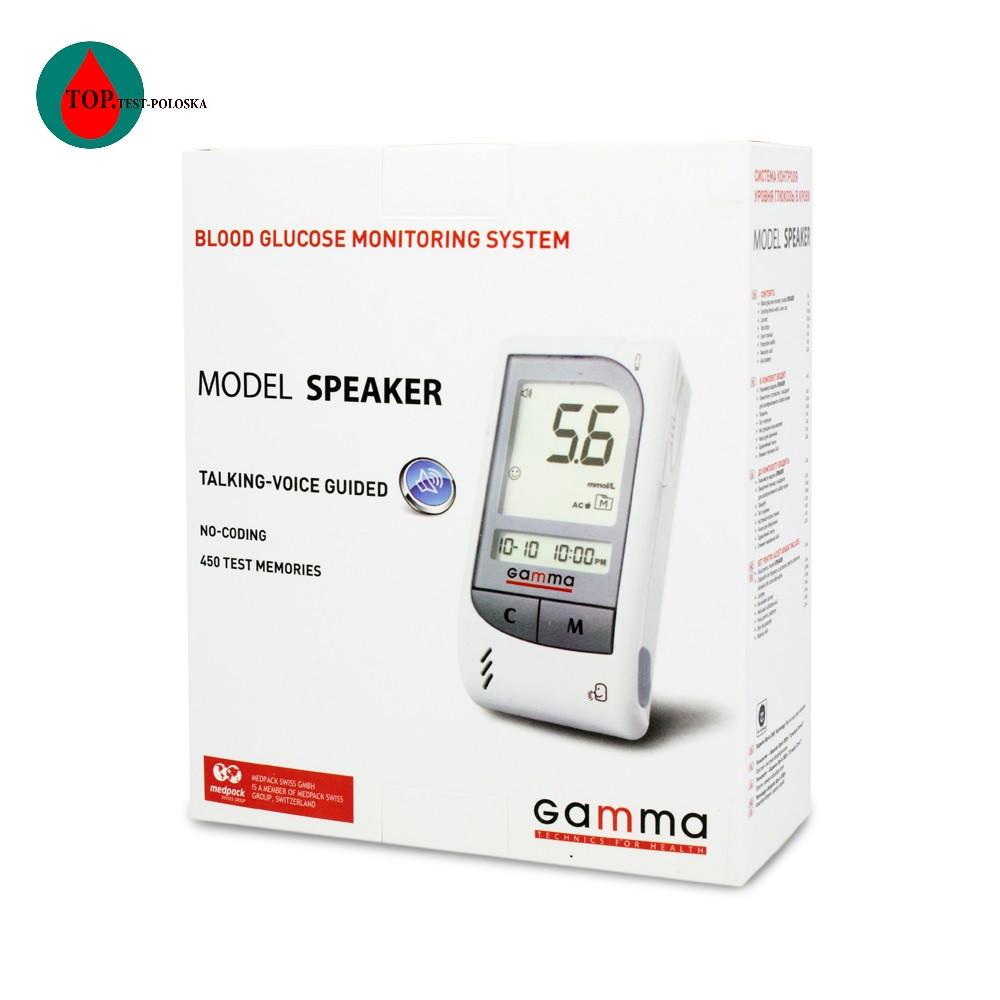 Глюкометр Gamma Speaker (Гамма Спикер)