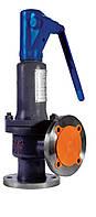 Клапан предохранительный пружинный угловой пропорциональный, полноподъемный, арт. HSV-F, HYA-F, фото 1