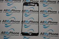 Рамка крепления дисплейного модуля для мобильного телефона Apple iPhone 7 черная