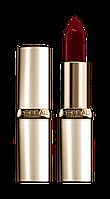 L'OREAL Color Riche Увлажняющая губная помада №376 - Cassis Passion