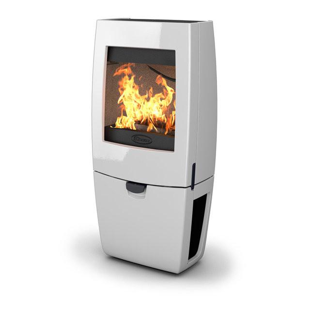 Чугунная печь Dovre Sense 400/E12 белая эмаль - 9 кВт