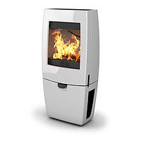 Чугунная печь Dovre Sense 400/E12 белая эмаль - 9 кВт, фото 1